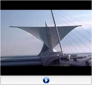 Alverno College student Katy Lederer created this video of the Milwaukee Art Museum's brise soleil as an assignment for her class, which was participating in the Wikipedia Education Program.