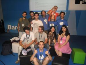 Wikipedians at Campus Party Brasil