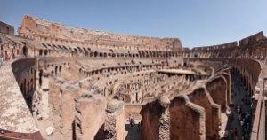 Colosseo di Roma, a photo by Baldi. CC-BY-SA