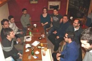 Free culture folks gathering at AlHamra, Beirut