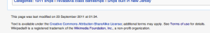 The current default timestamp on Wikipedia
