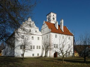 Castle of Žichovice, one of the hundreds of castles scattered throughout the Czech Republic
