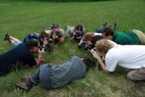 The key is finding the best angle: Czech Wikipedians during a trip organized by WikiProject Protected Areas (as a part of Mediagrant activities)
