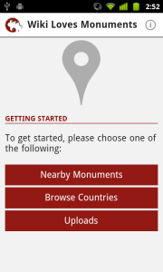 See monuments nearby or browse countries