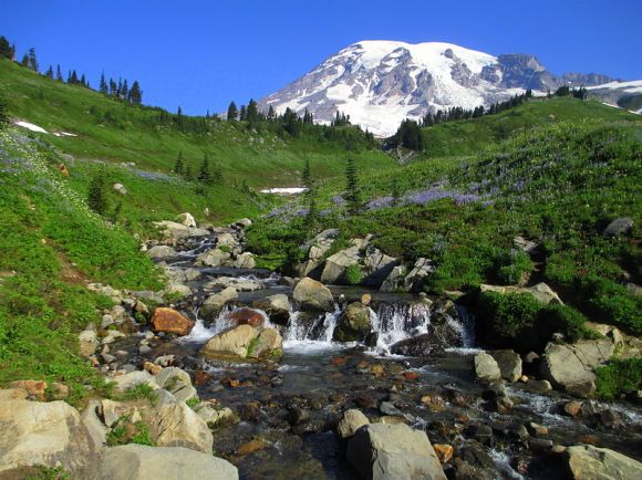 Mount Ranier, Finalist, Wiki Loves Monuments US, 2012