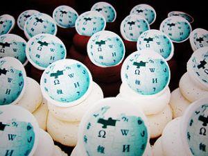 Wikipedia cupcakes at Ada Lovelace Day editathon