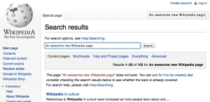 awesome new wikipedia page