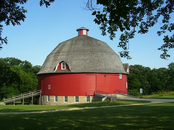 Ryan Round Barn, Finalist Wiki Loves Monuments US, 2012