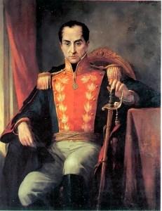 Portrait of Simón Bolívar