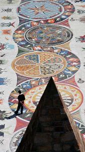 Mosaic walkway at the Donki Reserve, Port Elizabeth, 2nd Place, Wiki Loves Monuments 2012, South Africa