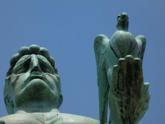 Споменик Победнику, Београдска тврђава, finalist Wiki Loves Monuments 2012 Serbia.