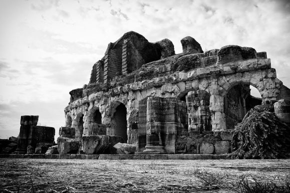 Anfiteatro Campano, 1st place, Wiki Loves Monuments 2012, Italy