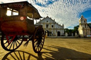 Early Morning at Vigan Cathedral, 1st place in Wiki Loves Monuments 2012 Philippines