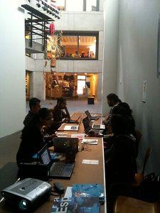The editathon at the Centro Cultural de España