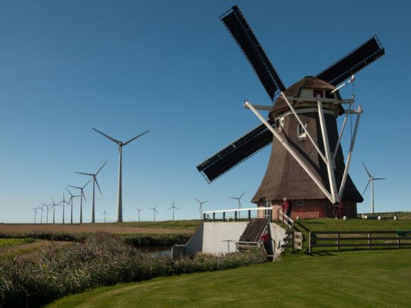 Goliath Windmill, 3rd place, Wiki Loves Monuments 2012, Netherlands