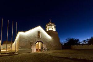 Iglesia de San Pedro de Atacama al atardecer, Región de Antofagasta, Chile. 2nd place, Wiki Loves Monuments 2012 Chile.