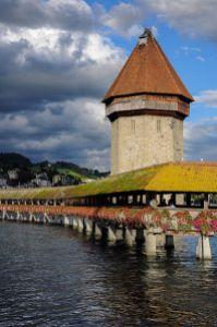 Water tower in Lucerne, 1st place, Wiki Loves Monuments 2012, Switzerland