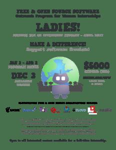 Outreach poster for internships