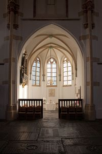 Interior of the Grote of Sint-Maartenskerk, 2nd place, Wiki Loves Monuments 2012, Netherlands