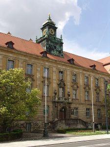 Schweinfurt courthouse.