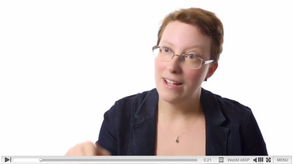 Click to view a video of Adrianne Wadewitz discussing the Impact of Wikipedia.