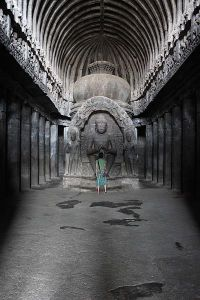 The Ellora Caves in India – uploaded via mobile!