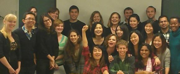 Anne Nelson's class at Columbia University