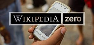 This is a stock image we created in post-processing software. Help us get real images of people using Wikipedia Zero on their mobile phones.
