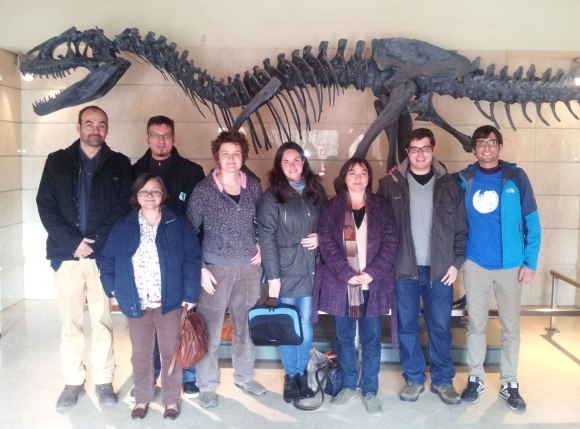 Volunteer editors participated in a Wikimarathon on Spanish scientists, held at the National Museum of Natural Sciences in Madrid, Spain. Photo by Millars, licensed under CC-BY-SA 4.0