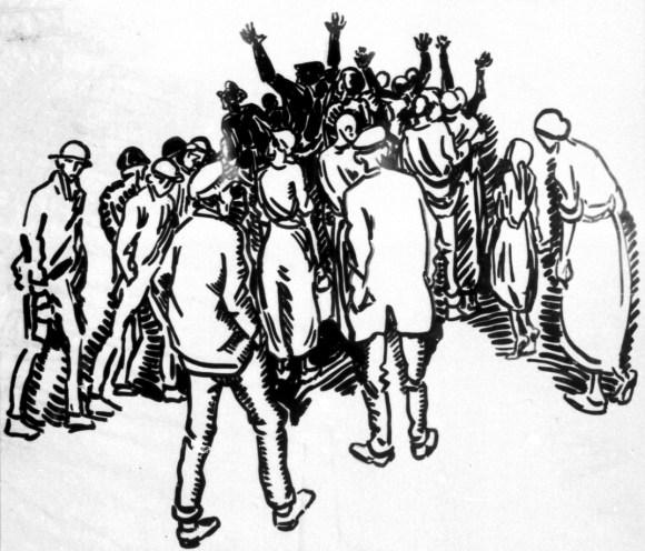 Illustration by Heinrich Vogeler, public domain.