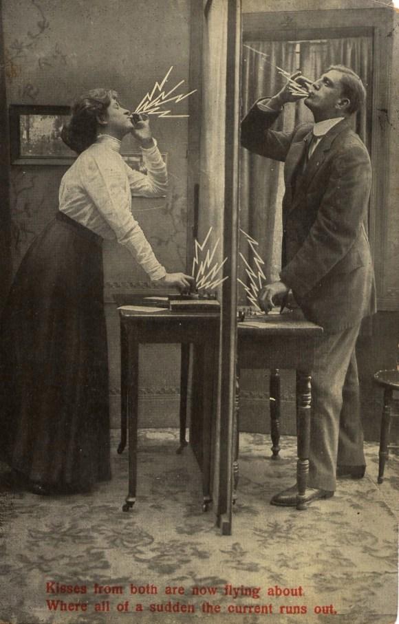 TelegraphicKissPostcard