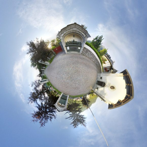 Esino Lario feels like a tiny planet for Wikimania, compared to past megacities that hosted the event. Photo by Cmglee, CC BY-SA 4.0.