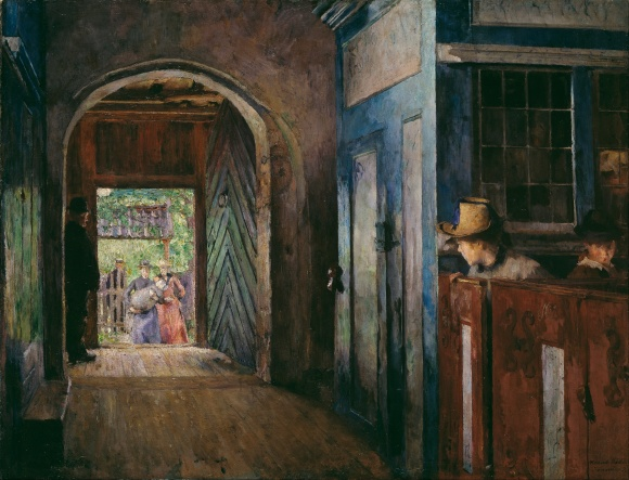 Painting by Harriet Backer, public domain/CC0.