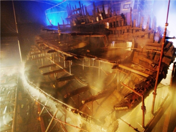 Mary Rose, closer to the present day. Photo via the Mary Rose Trust, CC BY-SA 3.0.