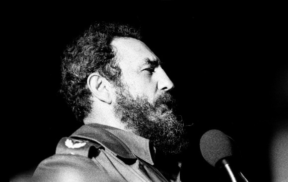 Fidel Castro, 1978. Photo by Marcelo Montecino,CC BY-SA 2.0.