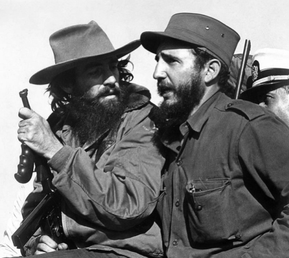 Fidel Castro and Camilo Cienfuegos, 1959. Photo by Luis Korda, public domain/CC0.
