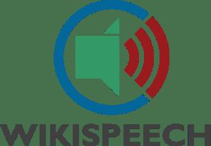 WikiSpeech logo. Photo by ElioQoshi, public domain/CC0.