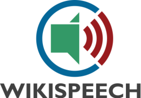 WikiSpeech logo. Photo by ElioQoshi, public domain/CC0.