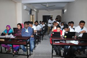 Bangla Wikipedia Workshop at Barendra University
